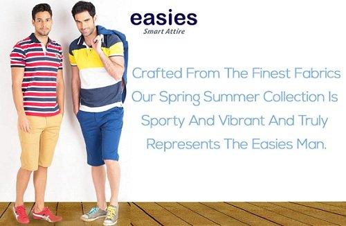 Easies Men's Clothing – Flat 35% – 70% off – Amazon