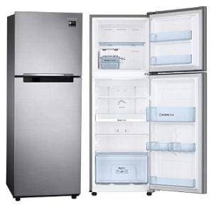 Samsung 253 L Frost Free Double Door Refrigerator (RT28M3022S8-HL/ RT28M3022S8-NL, Elegant Inox, 2017) for Rs.17,999 – Flipkart