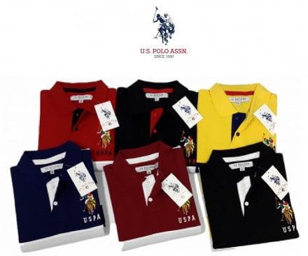 U.S.Polo Assn. Men's / Women's Polo T-Shirts - Minimum 50% off