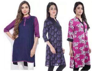 Women's Clothing: Buy 3 Get 90% Off on Tasrika and Mother Earth – Flipkart