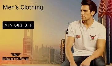 Red Tape Men's Clothing – Minimum 60% off – Flipkart