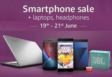 SmartPhone, Laptop & Accessories Sale – Amazon (valid till 21st June)