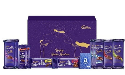 Cadbury Rakhi Special Assorted Chocolate Gift Pack, 476g (Brother to Sister, with Amazon Gift Card Rs.501 Inside) for Rs.932 – Amazon