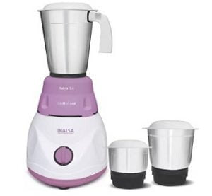 Inalsa Astra LX 600 W Mixer Grinder for Rs.1595 @ Flipkart (2 Yrs Warranty)