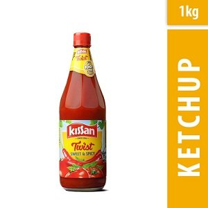 Kissan Sweet and Spicy Ketchup, 1000g worth Rs.147 for Rs.127 – Amazon