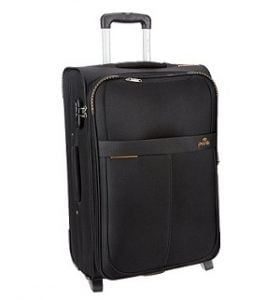 Pronto Oxford Polyester 55 cms Black Softsided Carry-On for Rs.1880 – Amazon (3 Yrs International Warranty)