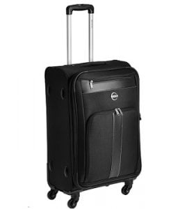 Pronto Zurich Polyester 58 cms Black Soft Sided Carry-On for Rs.2220 – Amazon (3 Yrs International Warranty)