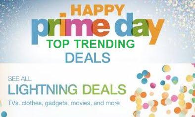Amazon Prime Exclusive Lightning Deal: Top Trending Deals in All Categories