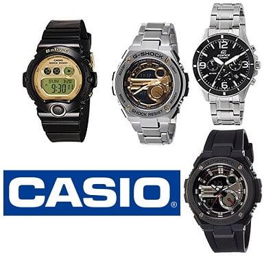 Casio Watches (Men's & Women's) – Minimum 40% Off starts from Rs.1197 – Amazon