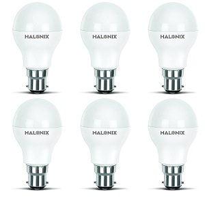 Halonix Photon Plus Base B22 9-Watt LED Bulb (Pack of 6, Cool Day Light) for Rs.549 + 10% Cashback – Amazon