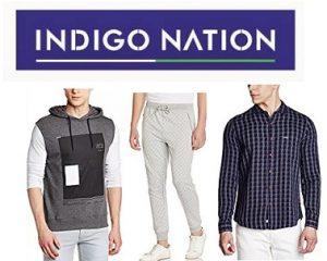 Indigo Nation Men's Clothing : Min 60% Off @ Amazon