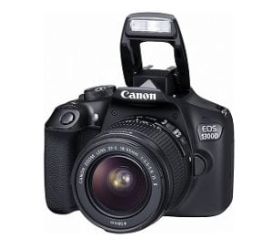 Canon EOS 1300D 18MP Digital SLR Camera with 18-55mm ISII Lens, 16GB Card and Carry Case for Rs.20,990 – Amazon (with ICICI Cards Rs. 18990)