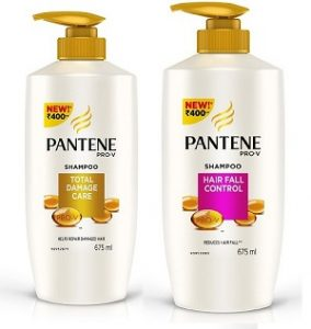 Pantene Shampoo 675ml worth Rs.395 for Rs. 217 – Amazon