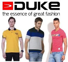 Duke Men's Clothing – Flat 50% Off starts from Rs.250 – Ajio
