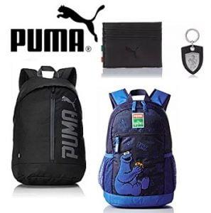 Puma Bags, Backpacks, Luggage, Wallets – Flat 50% – 72% off – Amazon