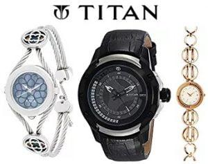 Titan Watches for Men's / Women's – Flat 50% off – Amazon