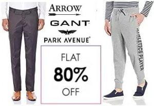 Men's Branded Trousers – FLAT 80% OFF – Amazon