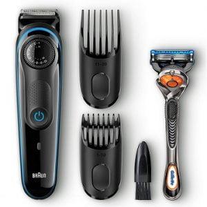Braun BT3040 Beard / Hair Trimmer for Men with Free Gillette Fusion ProGlide Manual Razor worth Rs.4295 for Rs.1499 + Get Rs.200 Cashback – Flipkart