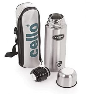 Cello Lifestyle Double Wall 750 ml Flask for Rs.569 – Flipkart