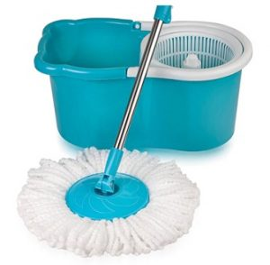 Steal Deal: Gala Aqua Blue & White Spin Mop for Rs.772 – Pepperfry
