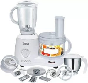 Inalsa Fiesta 650 W Food Processor – Flat 38% off for Rs.4,195 – Amazon