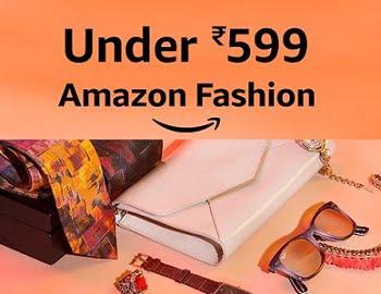 Amazon Fashion: Men / Women / Kids Clothing under Rs.599