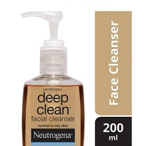 Neutrogena Deep Clean Facial Cleanser, 200ml worth Rs.399 for Rs.280 – Amazon