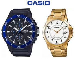 Steal Deal: Casio Watches – Flat 50% off + 20% Cashback – Flipkart
