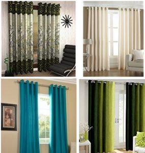 Curtains for Doors & Windows – Minimum 60% off @ Amazon