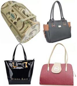 Women's Top Brand Handbags, Clutches – Minimum 70% off @ Amazon