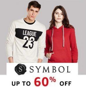 Symbol Men & Women Sweat Shirts - Flat 40% - 60% off