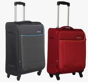 American Tourister 58 Cm Jamaica Soft Luggage Strolley worth Rs.7500 for Rs.2800 – Jabong
