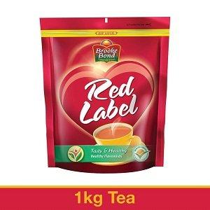 Brooke Bond, Red Label Tea Leaf, 1kg worth Rs.430 for Rs.330 – Amazon