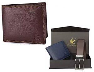 Hornbull Genuine Leather Wallet & Belts – Minimum 60% off @ Amazon