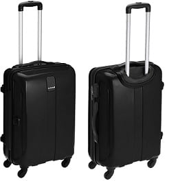 Flat 71% off – Safari Thorium Sharp Antiscratch 66 Cms Polycarbonate Black Check-In 4 wheels Hard Suitcase for Rs.2899 – Amazon