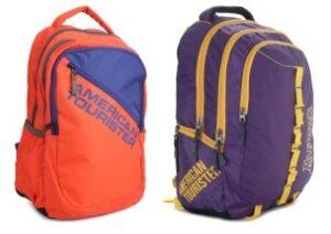 American Tourister Backpacks - Minimum 70% Off
