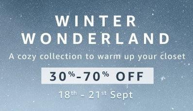 Winter's Clothing – Men's | Women's & Kids – Flat 30% – 70% off @ Amazon