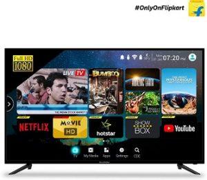 CloudWalker 127cm (50 inch) Full HD LED Smart TV (Cloud TV 50SF) for Rs.33,499 – Flipkart