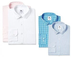 Excalibur Men's Shirt Combo (Pack of 2) from Rs. 406 – Amazon