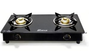 Fabsurya 2 Burner 7 MM Toughened Glass Top Gas Stove for Rs. 1427 – Pepperfry