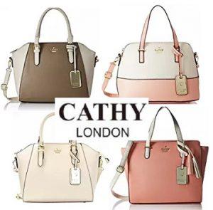 Cathy London Handbags Flat 60% – 75% off – Amazon