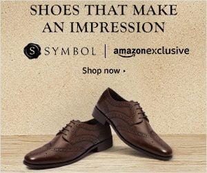 Symbol Men's Footwear Minimum 50% off +Rs.75 Cashback – Amazon