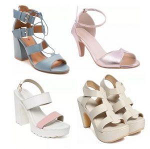 Women's Sandals (Heels) Min 50% off – Flipkart