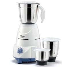 Eveready Mixer Grinder GLOWY – White and Blue for Rs.1349 – Pepperfry (Lowest Price Deal for Limited Period)