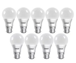 Steal Deal: Eveready LED Bulb Combo 9W – 6500K Pack of 9 for Rs.599 – Pepperfry