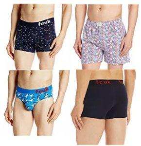 FCUK Men's Innerwear – 70% off on select size @ Amazon