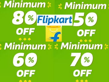 Flipkart Final Hour Sale – Minimum 80% – 70% – 69% – 60% off stores (Limited Period Deal)