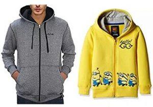 Jackets & Sweatshirts under Rs.999 – Amazon
