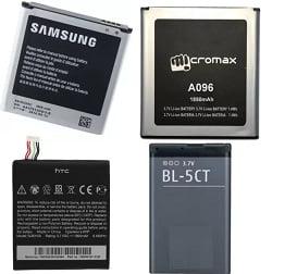 Min. 40% Off on Mobile Batteries – Flipkart