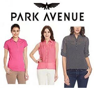 Park Avenue Women's Tops – Flat 50% – 80% off @ Amazon